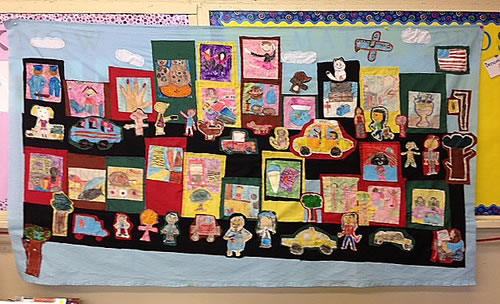 PS 86 - Quilt project