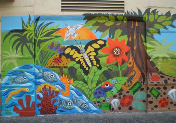 Murals by Maria Dominguez
